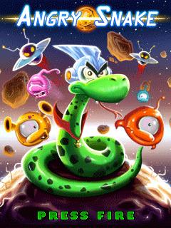 Игра Angry Snake для Nokia Asha 305
