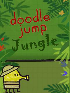 Игра Doodle Jump Jungle для Nokia Asha 305